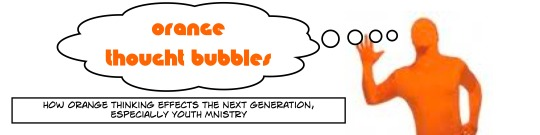 orange thought bubbles